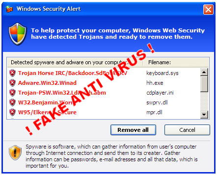 how to get past virus pop up
