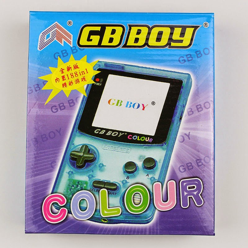 16 Bit Kong Feng GB Boy Color Colour Backlit Handheld Game Console 188 Games S01