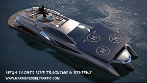 Mega Yachts Live Tracking, Reviews & Photos