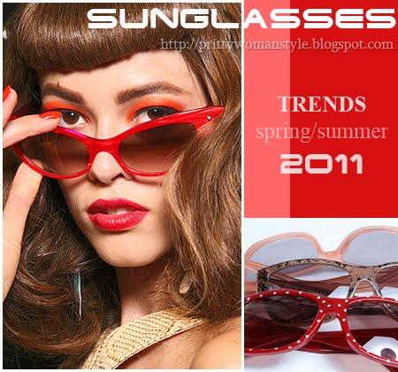 Модни тенденции за слънчеви очила лято 2011