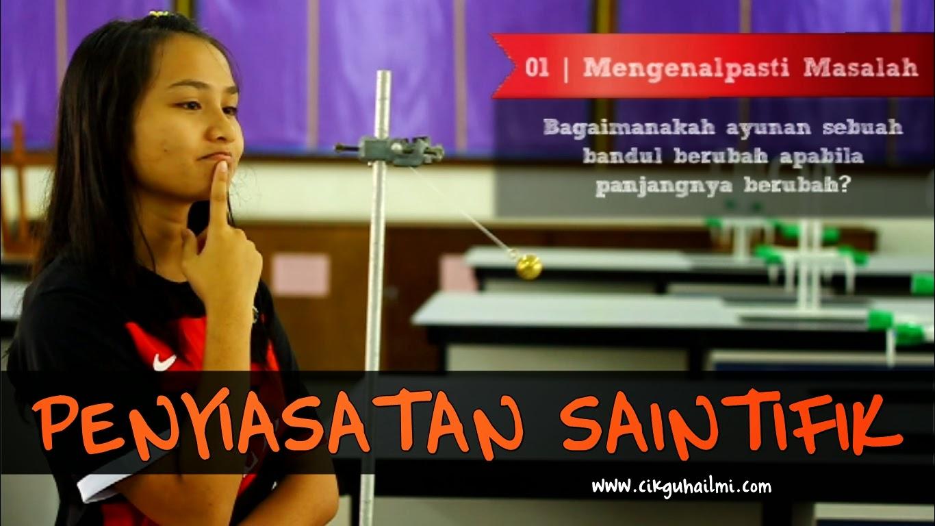 8 Langkah Penyiasatan Saintifik