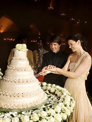 Jen Aniston Wedding Cake