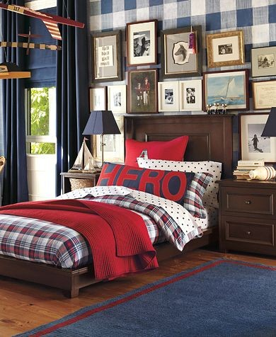 roses and rust bedrooms for boys