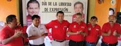 Candidatos PRI-PVEM Municipio Calkiní. 8junio2012.