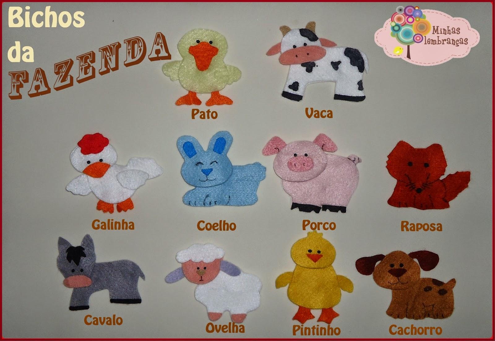 http://minhaslembrancasebrindes.blogspot.com.br/2014/07/bichos-da-fazenda.html