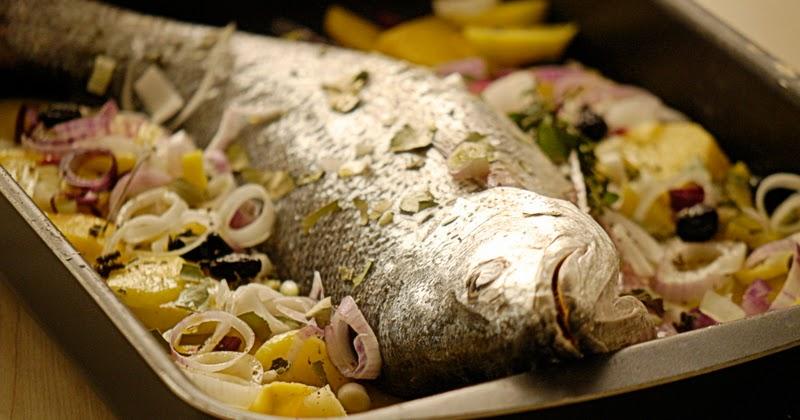 La piccola casa il pesce facile da preparare ombrina al - Casa profumatissima ...