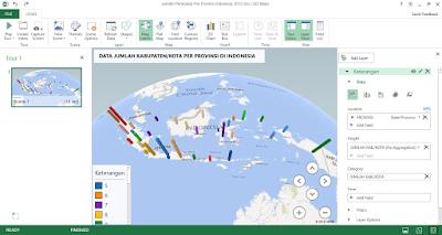 Model Stacked data Jumlah Kabupaten/Kota