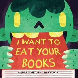 I WANT TO EAT YOUR BOOKS cover