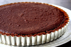 SIMPLE DARK CHOCOLATE TART