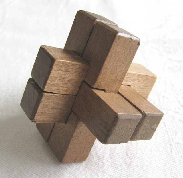 Brain Benders Wooden Puzzles4