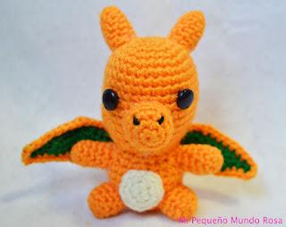 Amigurumi Crochet Patterns Pokemon : 2000 Free Amigurumi Patterns: Charizard Pokemon crochet ...