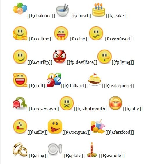 40 Cool Emoticons Code That You Can Type | Pic Gang