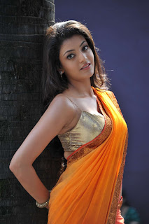 Kajal aggarwal hot boobs in saree