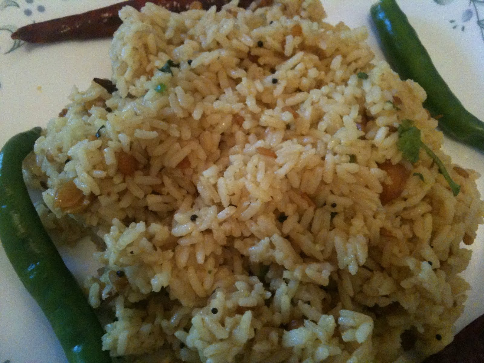 Tamarind Rice or Pulihora