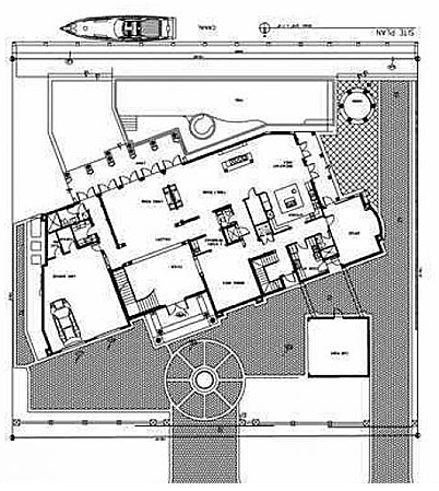 Mansions more 12 000 sq ft waterfront new build in florida for 12000 sq ft house plans