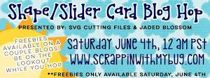 Shape/Slider Card Blog Hop