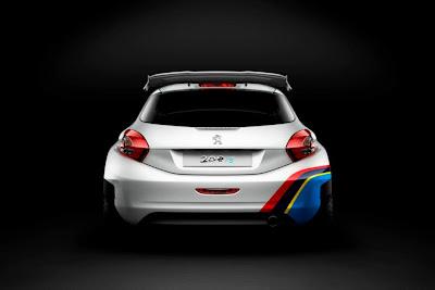 Peugeot 208 Type r5 rear