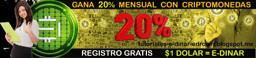 MIRA COMO GANAR 20% MENSUAL