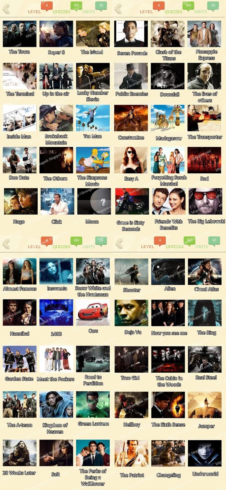 Movie quiz easy
