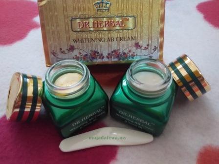 citramulia, citra mulia, citra mulia kosmetik, dr herbal whitening ab cream, dr herbal ab cream, produk semulajadi, produk kecantikan dari indonesia