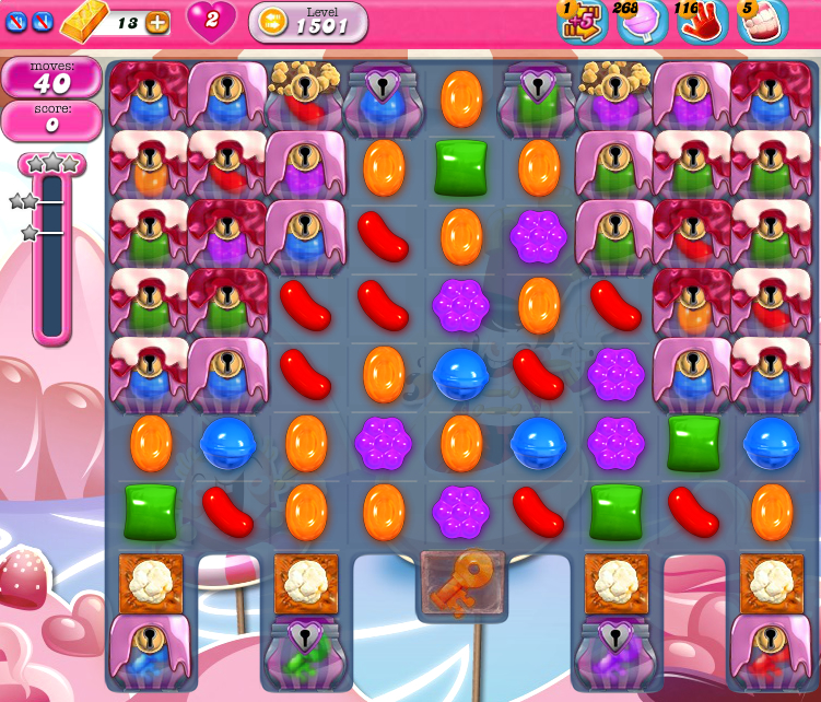 Candy Crush Saga 1501