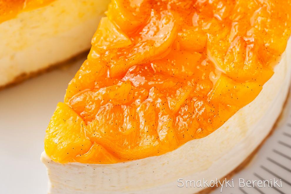 Sernik na zimno z serka mascarpone