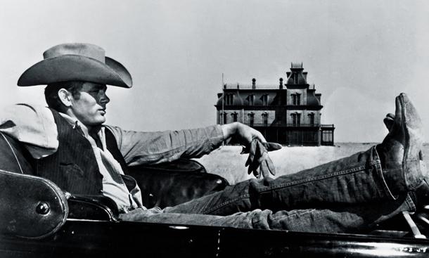 James Dean en 'Gigante'