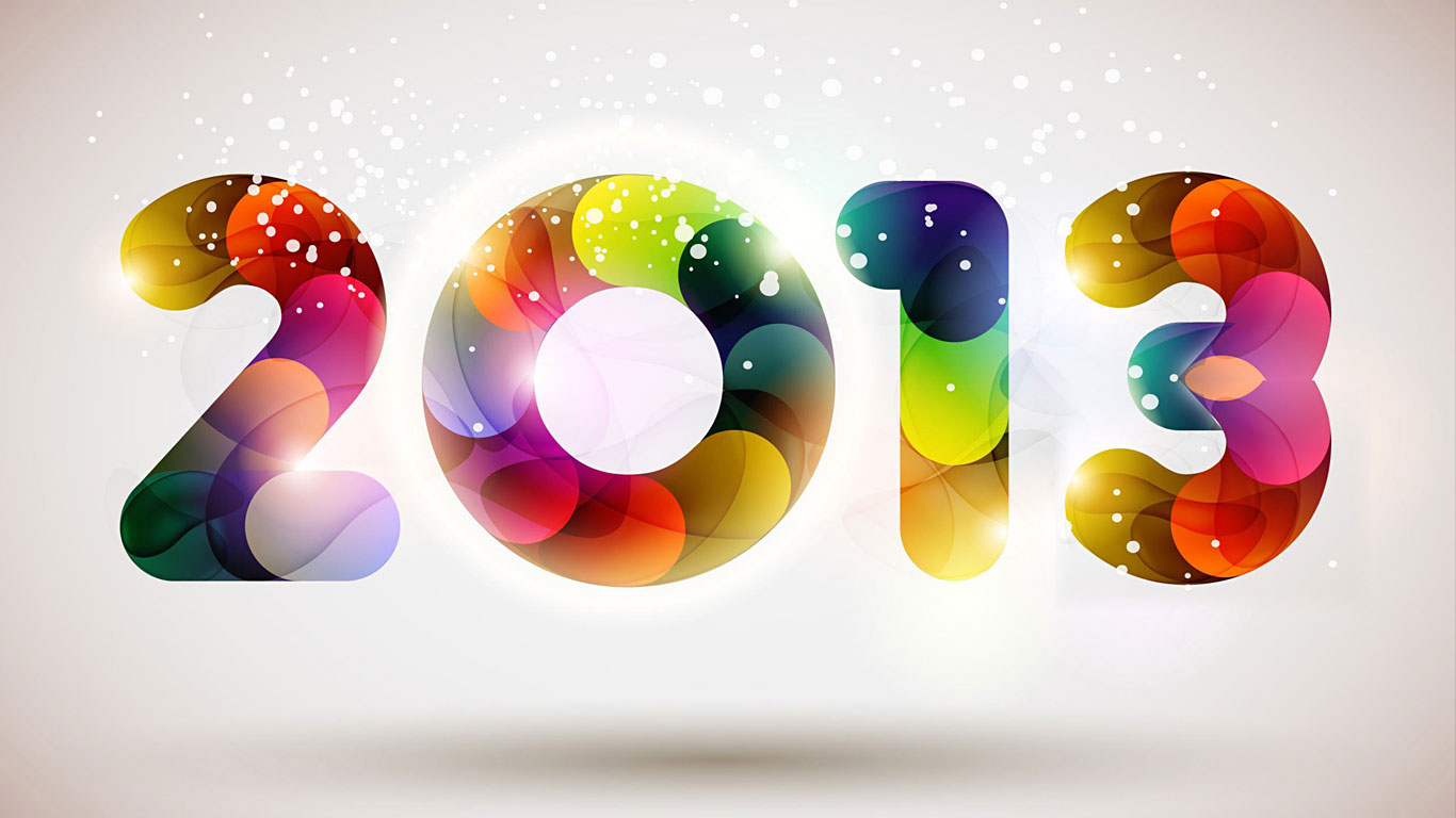 Latest Happy New Year 2013 Wallpaper