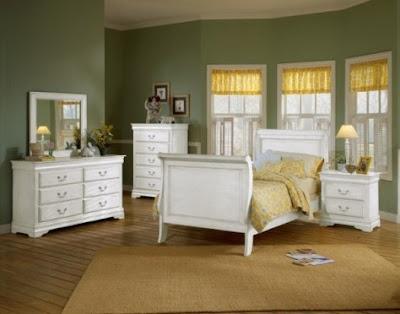 Muebles de dormitorio para ni os de color blanco - Dormitorio muebles blancos ...