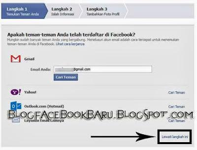 Cara Paling Cepat Membuat Akun facebook