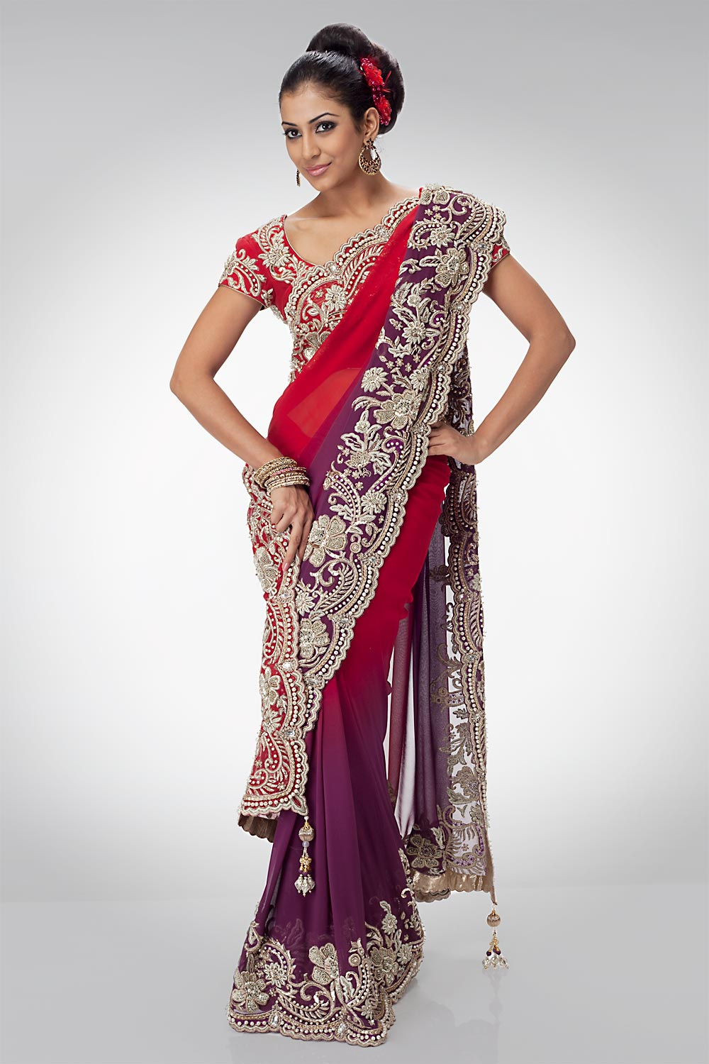 Chicboutique Bridal Sarees Indian Bridal Sarees