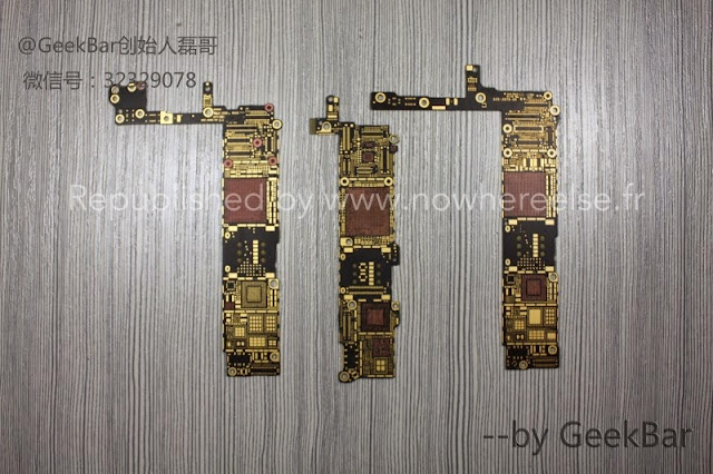 iPhone 6 4.7吋 5.5吋 電路板照片流出