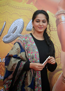 Anushka Latest Picture in Salwar Kameez at Lingaa Tamil Movie Audio Launch ~ Celebs Next