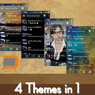 DroidChat BBM Clone Pro Feature 2.9.0.49 Apk