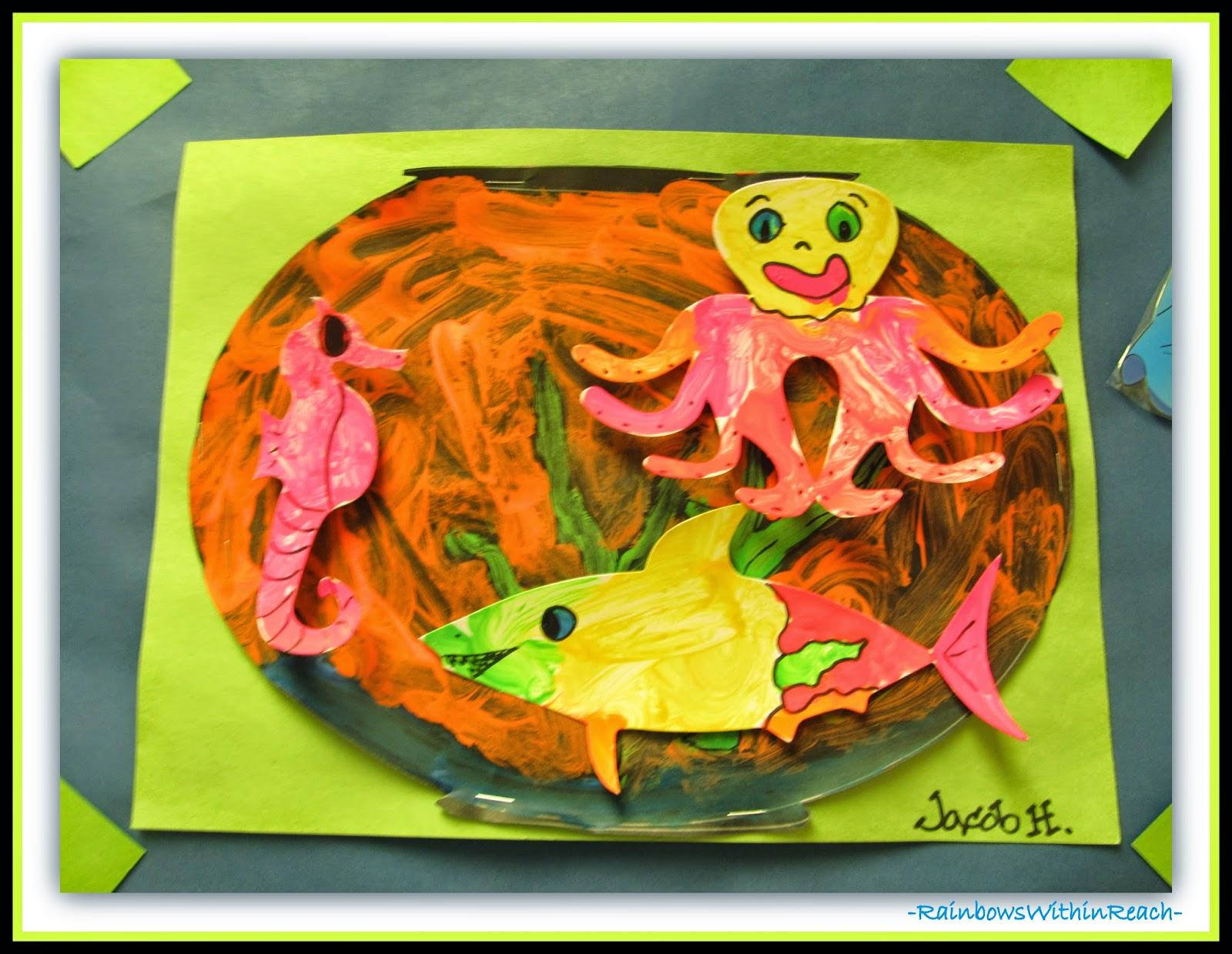 Ocean Fish Bowl  {Ocean RoundUP at RainbowsWithinReach}