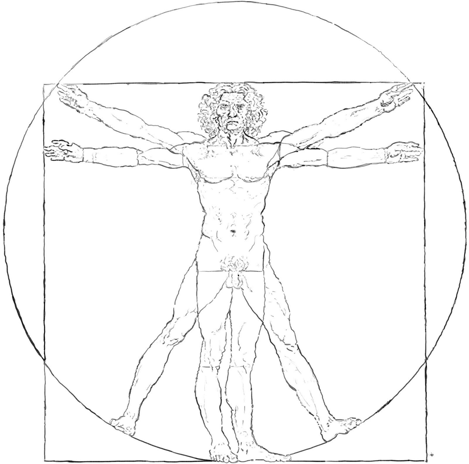 Todd Allison Illustration: Assignment: Copy a Master - Vitruvian Man