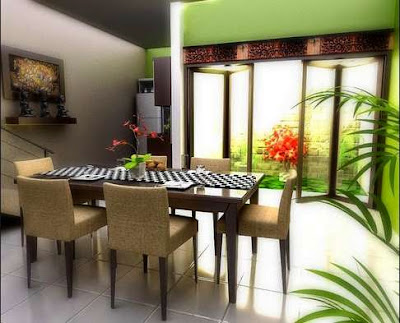 Picture Modern Minimalist Dining Room Design