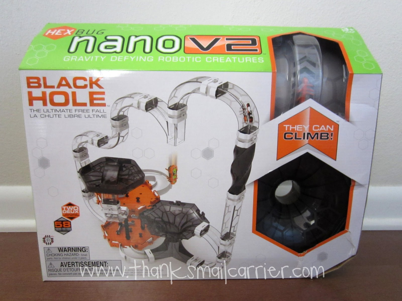 HEXBUG Nano V2 Black Hole set