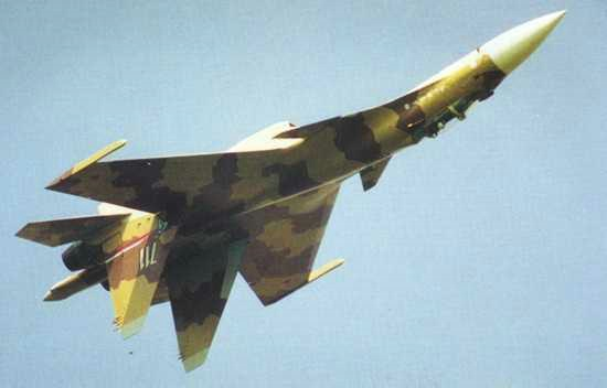Sukhoi Su-37 Multirole Fighter Jet