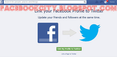 Easy Step How To Connect Facebook To Twitter