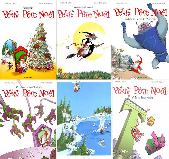 Sélection de BDs sur le thème du Père Noël