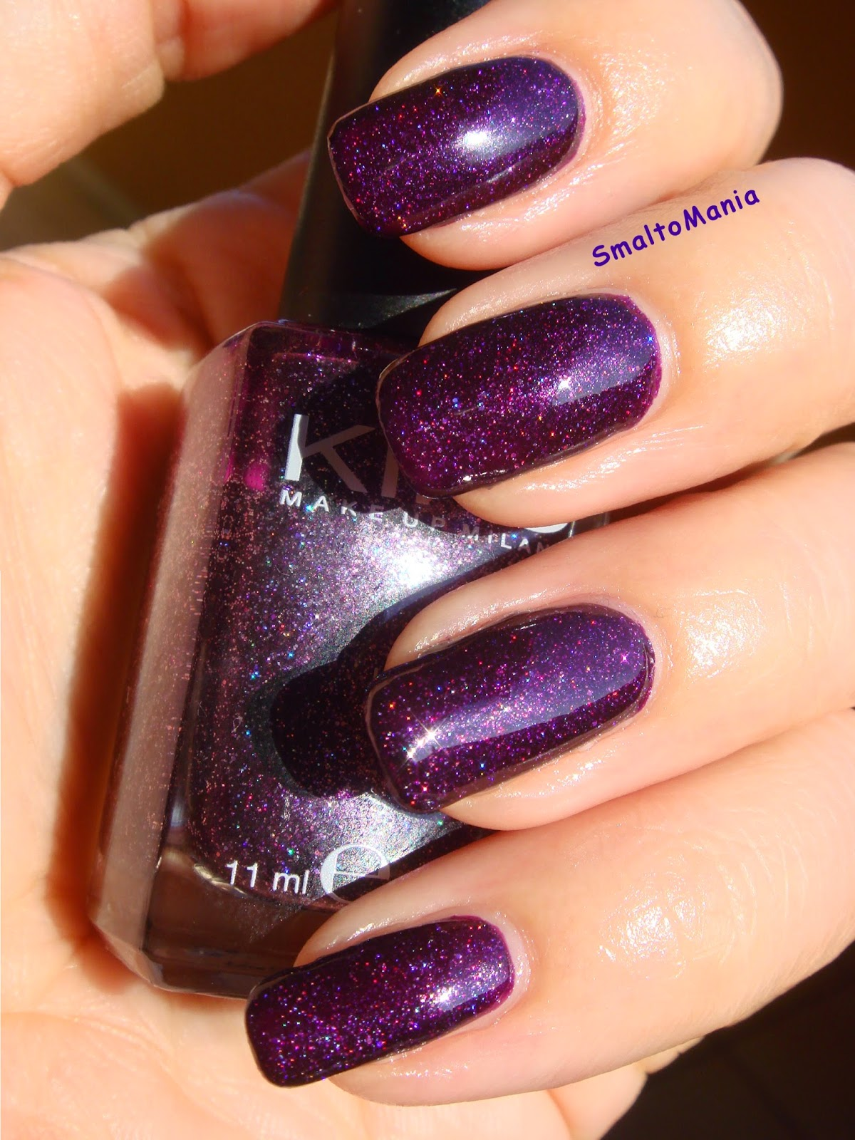 Kiko n.255 Viola Microglitter