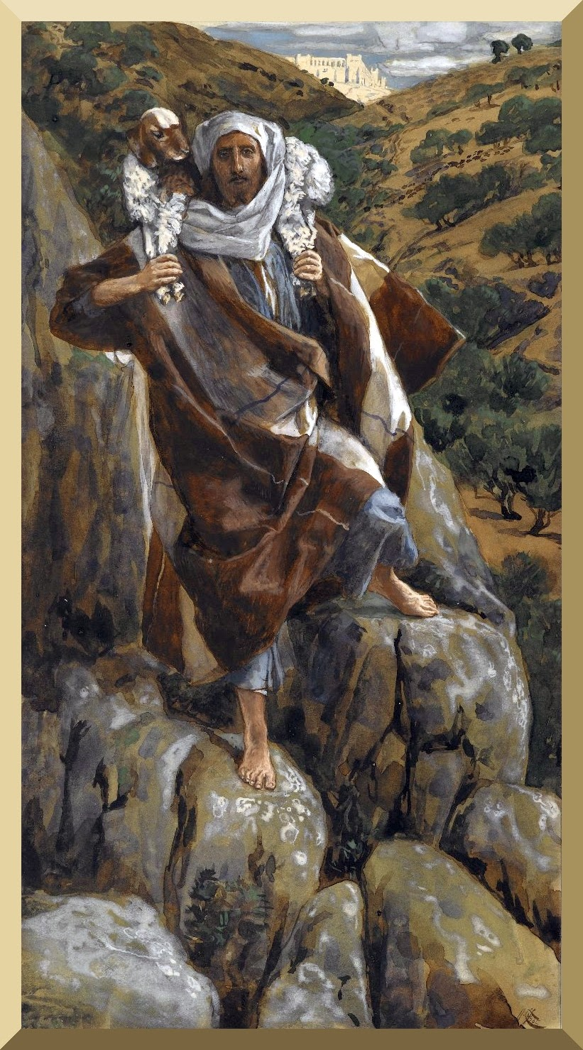 """The Good Shepherd"" -- by James Tissot"