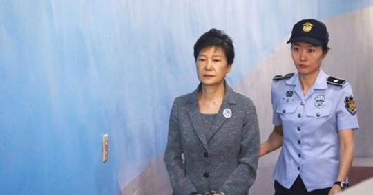 South Korean court sentences president Park to another eight years in jail ; total 24 years !!