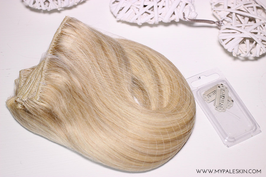 My Pale Skin Dirty Looks Hair Extensions Review