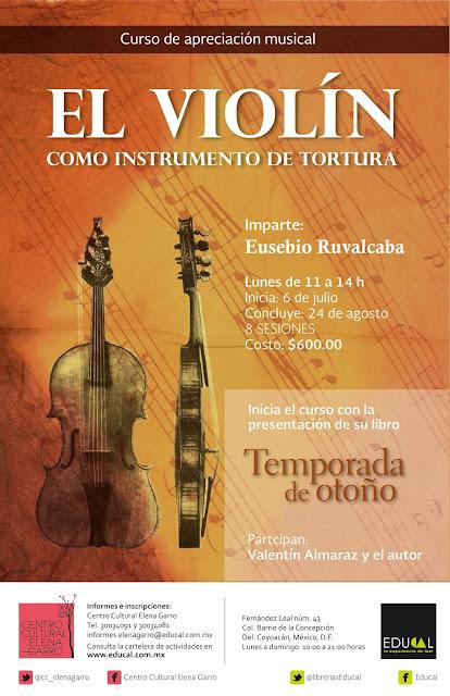 Inician actividades sobre apreciación musical en el CC Elena Garro