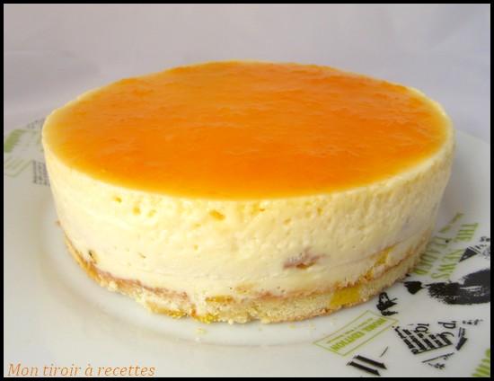 cheesecake orange