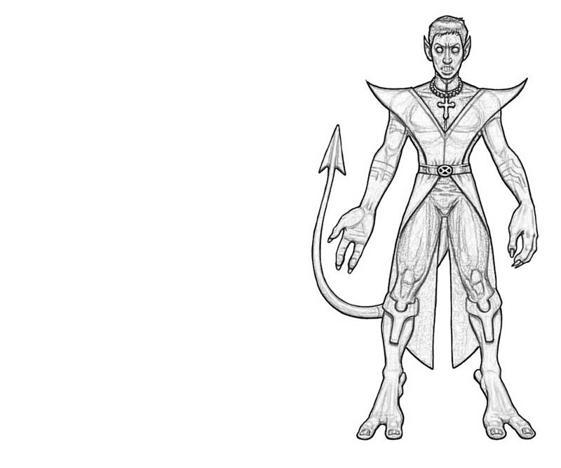 Nightcrawler Free Colouring Pages Nightcrawler Coloring Pages