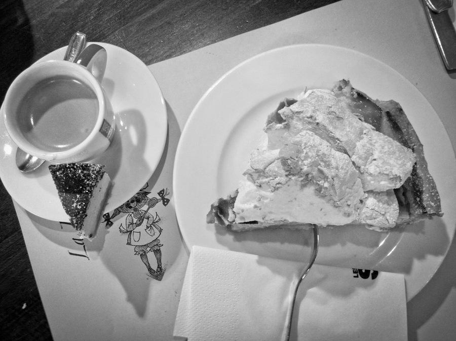 Coffe and cake café et gâteaux