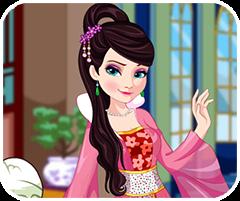 Thời trang nữ hoàng Trung Hoa, game ban gai